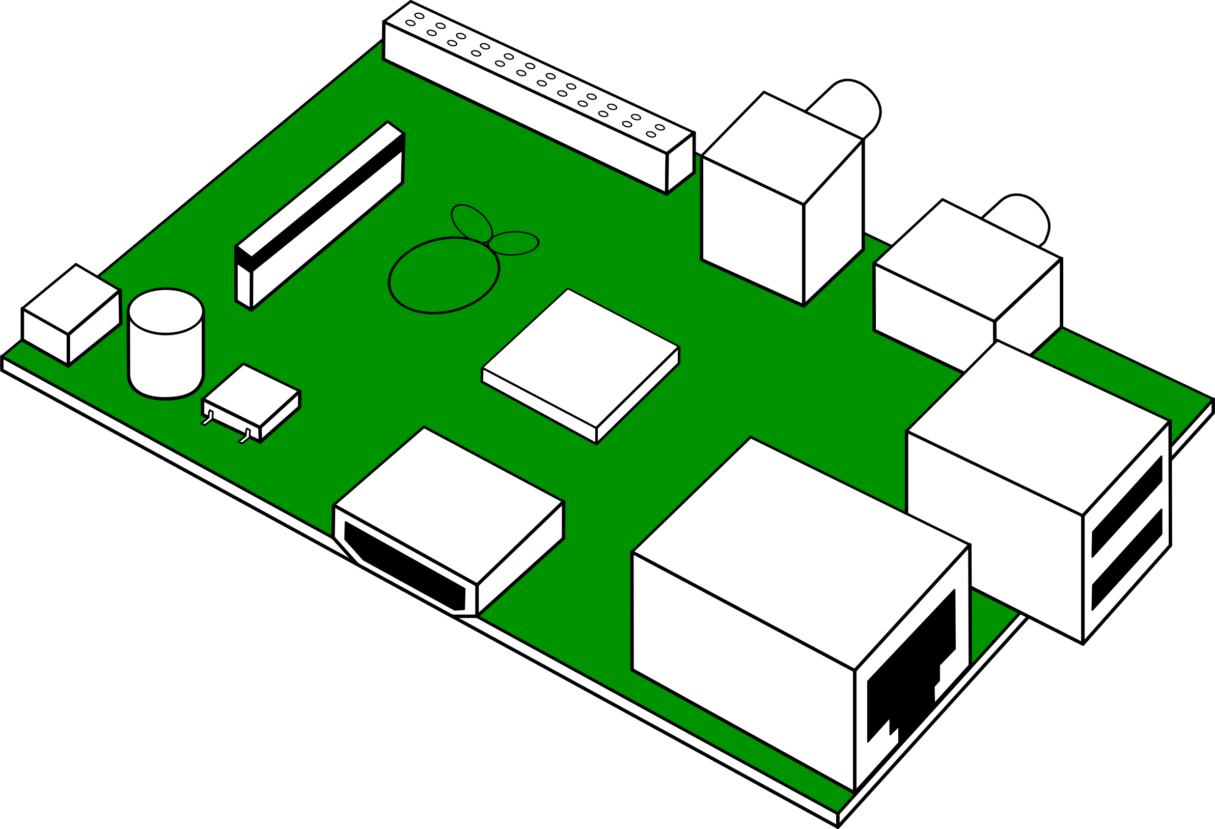 Raspberry pi 2 clipart image freeuse download Raspberry pi clipart - ClipartFest image freeuse download