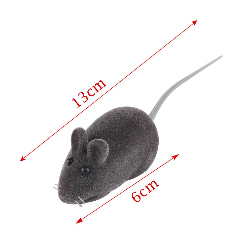 Rat mouse clipart funny squeek sound image black and white download Color Random!!!1 Pc Lovely Funny Pet Cat Kitten Play Toys False Mouse Rat  Squeak Noise Sound Pet Accessories image black and white download