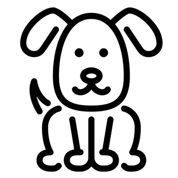R | Breeds | DogZone.com graphic black and white download