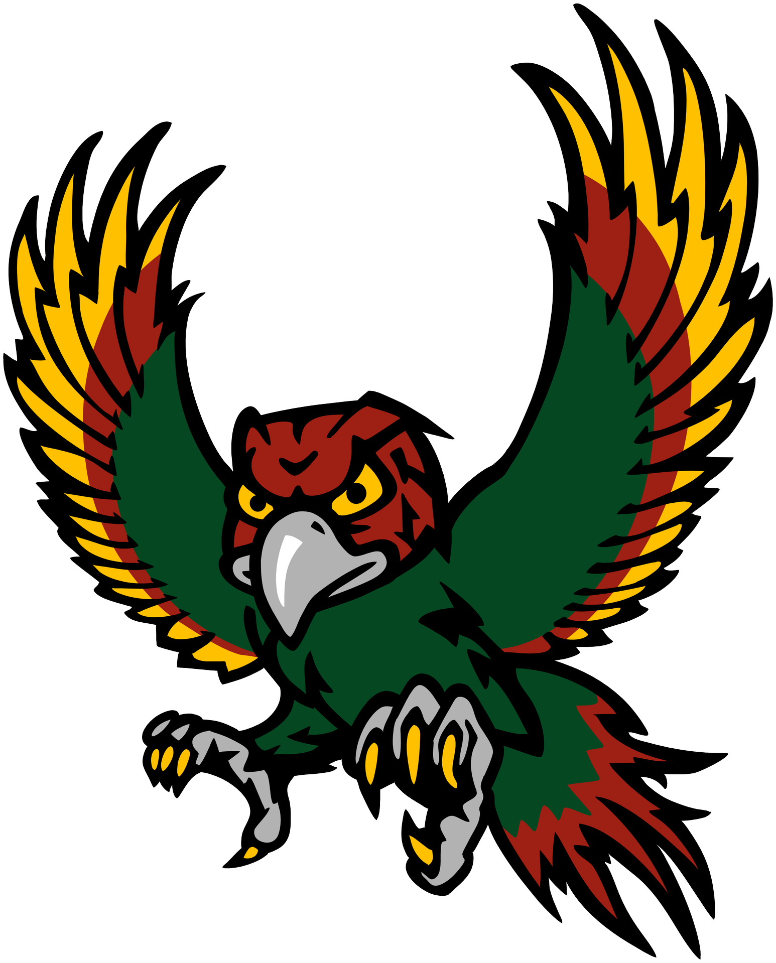 Raw turkey standing clipart clip royalty free download The Free State High School Firebird from Lawrence, KS. I (Jacob Hood ... clip royalty free download
