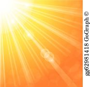 Ray of light clipart vector library library Light Rays Clip Art - Royalty Free - GoGraph vector library library