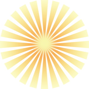 Ray of light clipart png freeuse library Golden Solar Rays Clip Art at Clker.com - vector clip art ... png freeuse library