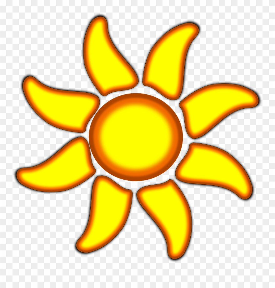 Rayos vector clipart clip art black and white download Vacation, Sunflower Sunshine Flower Sun Heat Warmth - Rayos ... clip art black and white download