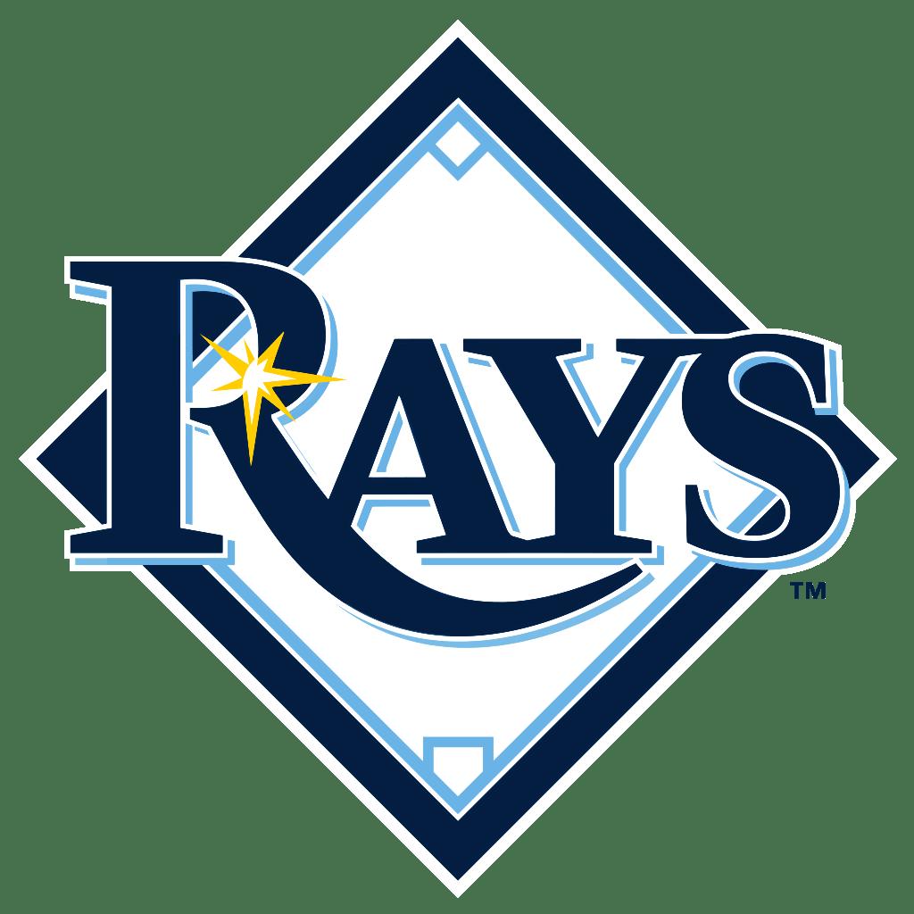 Rays baseball clipart