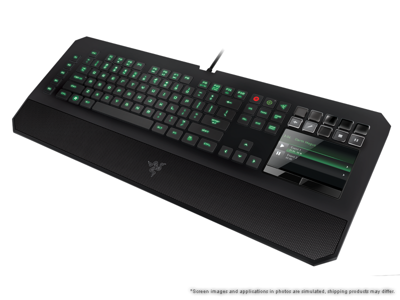 Razer DeathStalker Ultimate Gaming Keyboard - Switchblade ... picture library library