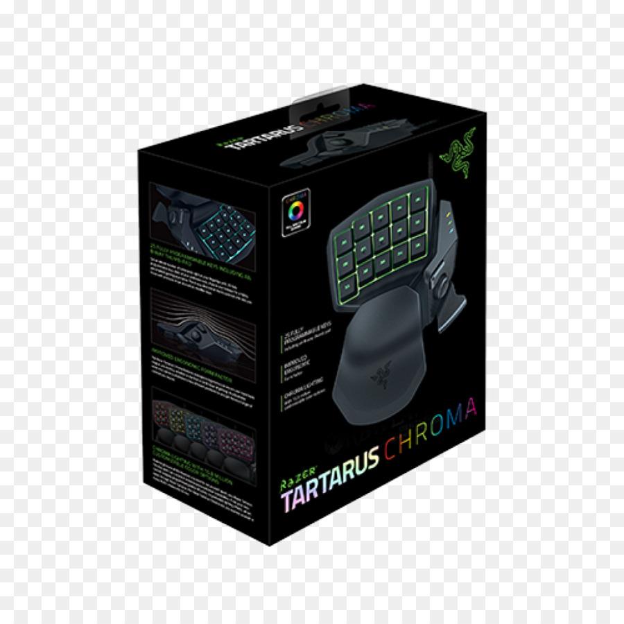 Computer keyboard Razer Tartarus Chroma Gaming keypad Razer ... clip art royalty free download