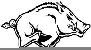 Razorbacks clipart picture royalty free Razorback Clipart | Free Images at Clker.com - vector clip ... picture royalty free