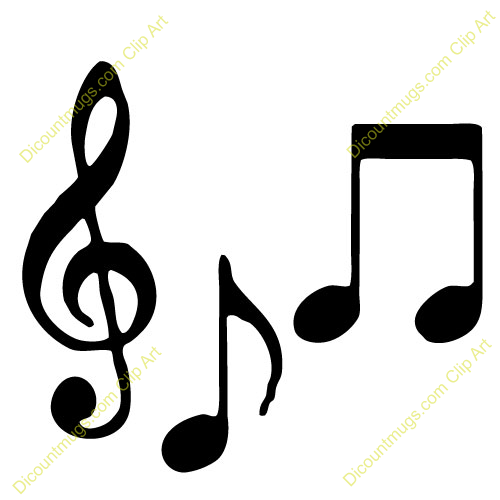 R&b clipart graphic royalty free of g clef with half note . | Clipart Panda - Free Clipart Images graphic royalty free