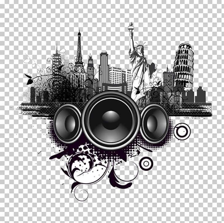 R&b clipart svg black and white Music Producer Rhythm And Blues Contemporary R&B Music ... svg black and white