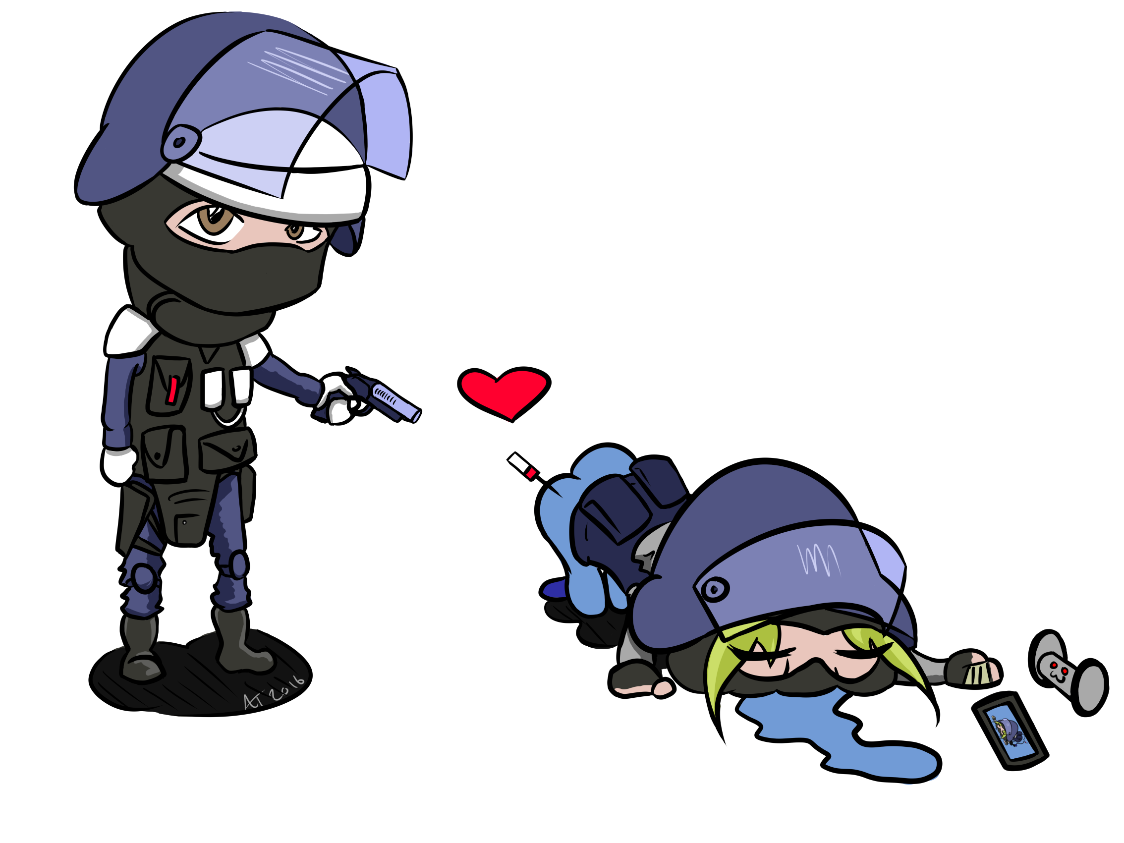 Rb6 siege iq cliparts picture transparent download OC] Doc and IQ drawing, possible comic? Maybe? : Rainbow6 picture transparent download