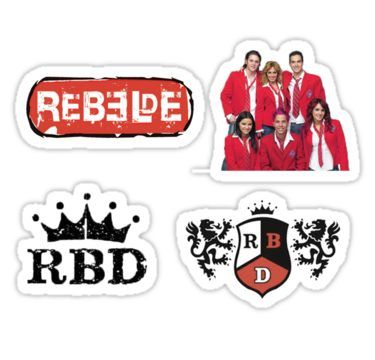 Rebelde/ RBD Sticker in 2019 | Products | Stickers, Iphone ... free