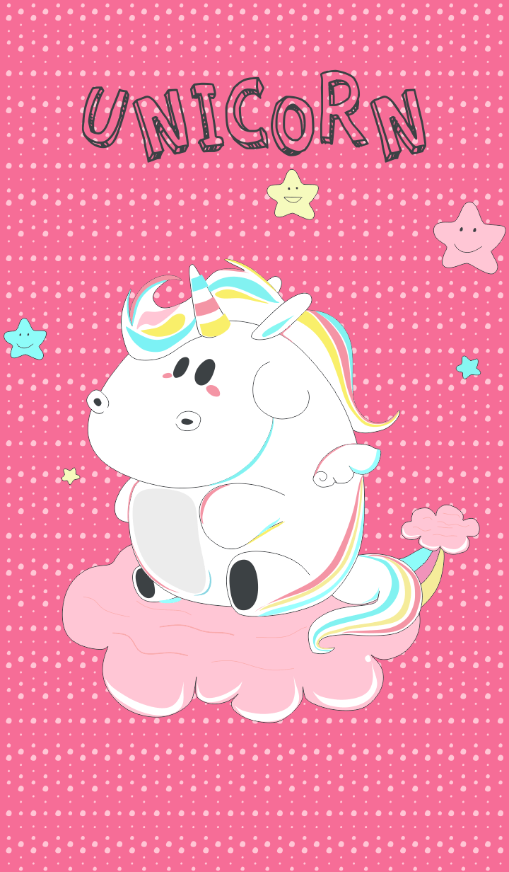 Rch clipart image royalty free download Hallo theme simple unicorn kids with rainbow cute and cloud ... image royalty free download
