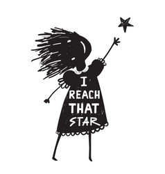 Reach for stars clipart black and white svg free library Reaching for Stars Vector Images (over 750) svg free library