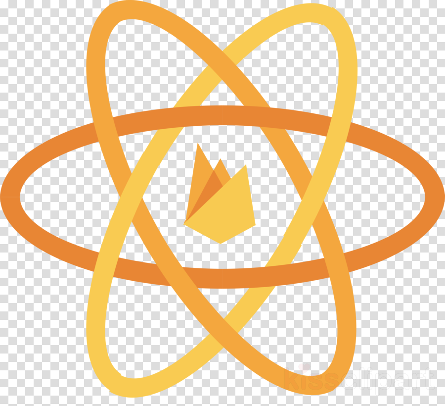 React, React Native, Firebase, transparent png image ... banner black and white