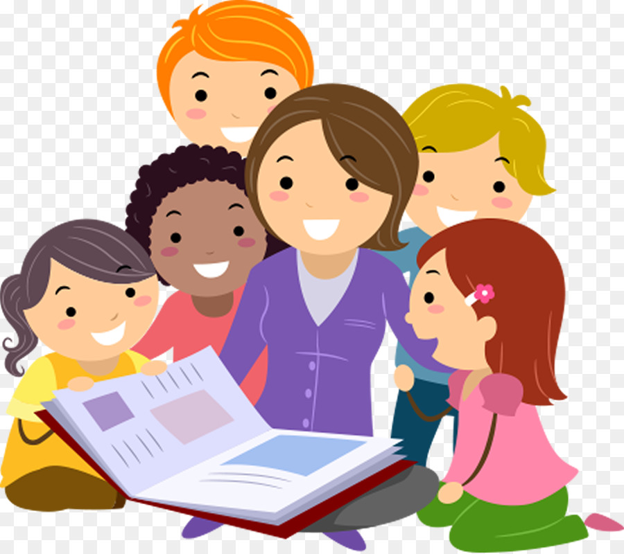 Read with teacher clipart free Group Of People Background clipart - Teacher, Education ... free