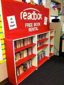 Readbox clipart clip art stock Readbox - Free Book Rental Bookshelf for the Classroom ... clip art stock