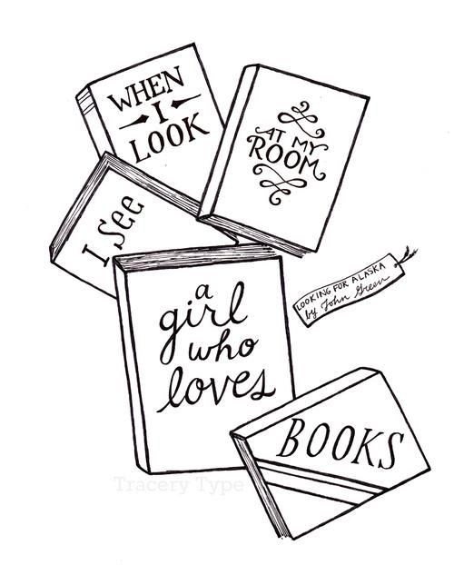 Reading and books tumblr black and white clipart banner library download Tumblr. | Love Book Quotes | I love books, John green books ... banner library download
