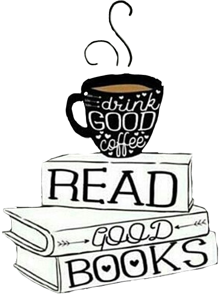 Reading and books tumblr black and white clipart clip black and white book books libri tumblr caffè cafe read... clip black and white