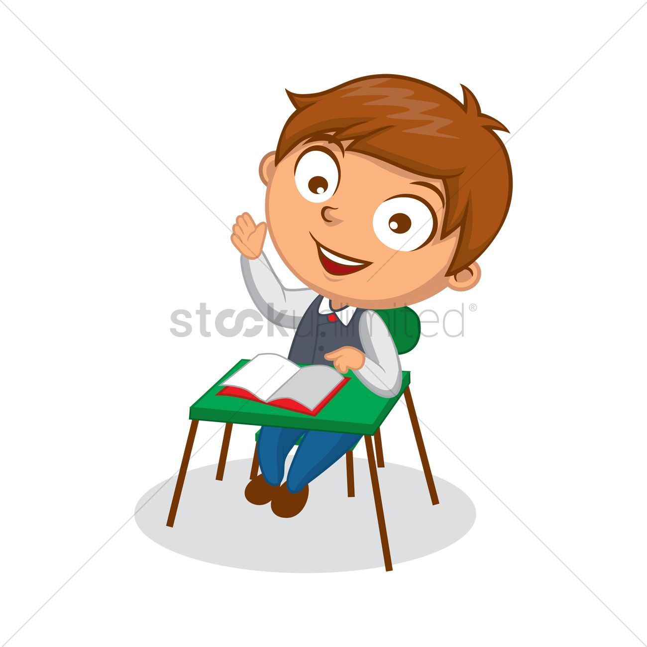 Reading books in rocking chair for kids clipart clip black and white Free School boy reading book Vector Image - 1570308 ... clip black and white