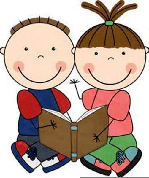 Reading buddy clipart picture black and white Reading buddy clipart 5 » Clipart Portal picture black and white