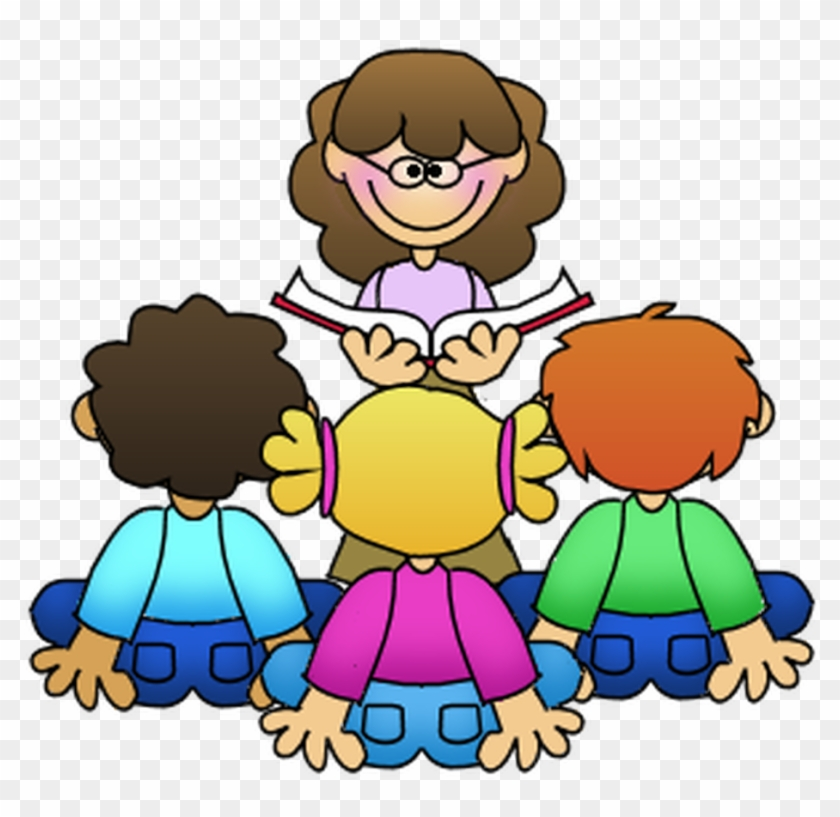 Reading clipart for teachers clip art transparent library Free Png Teacher Reading To Students & Free Teacher Reading ... clip art transparent library