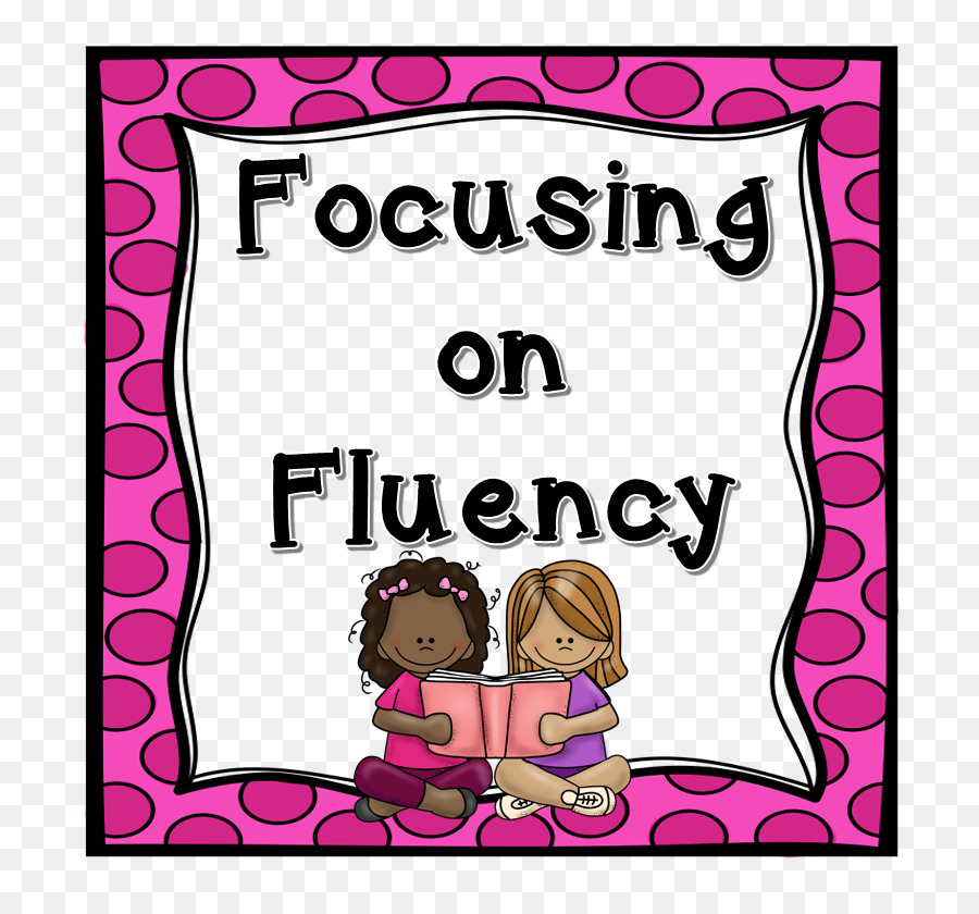 Reading fluency clipart png free library Party Background Frame clipart - Reading, Pink, Text ... png free library