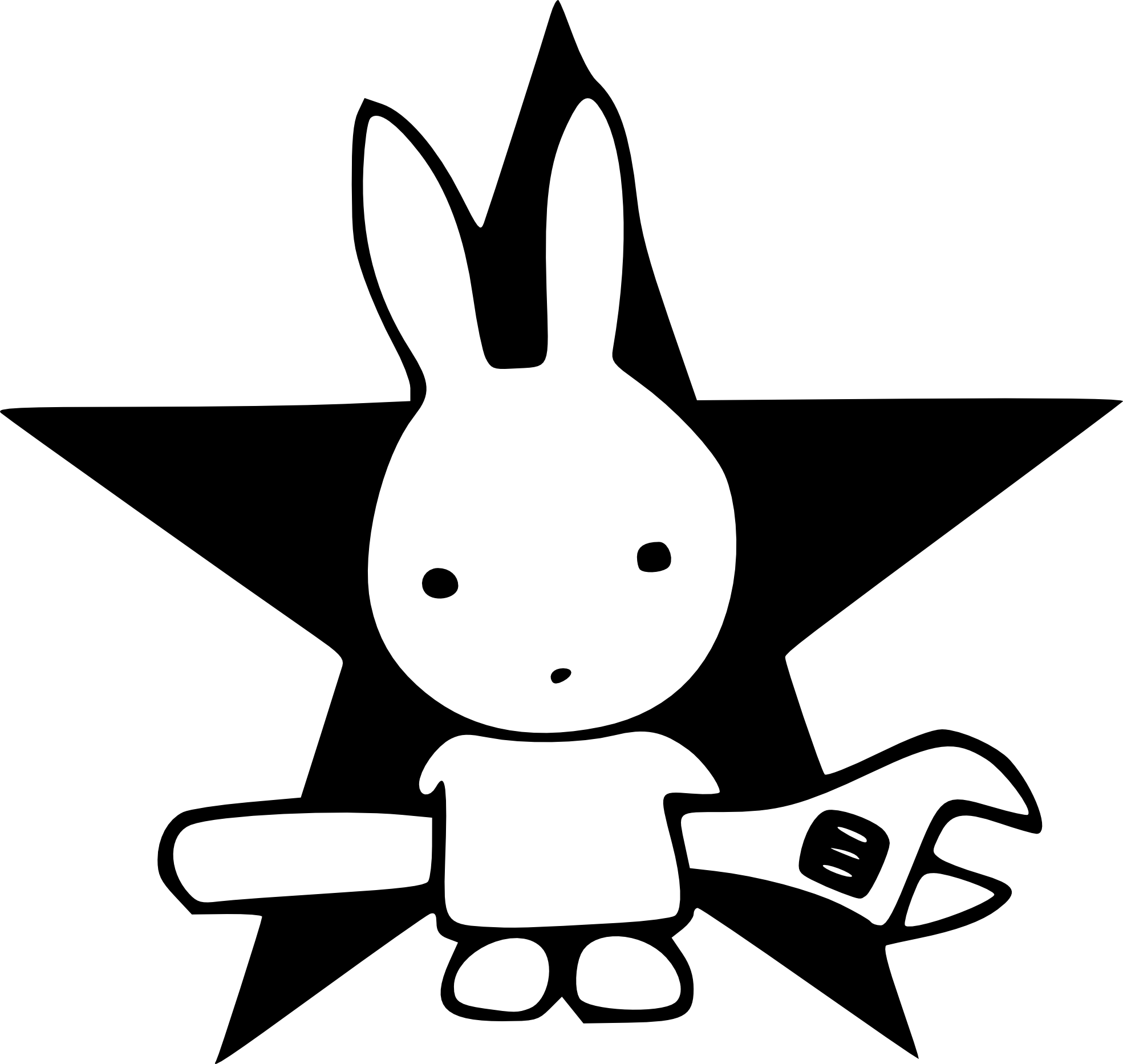 Star student clipart black and white image black and white library Star Line Clipart | Clipart Panda - Free Clipart Images image black and white library
