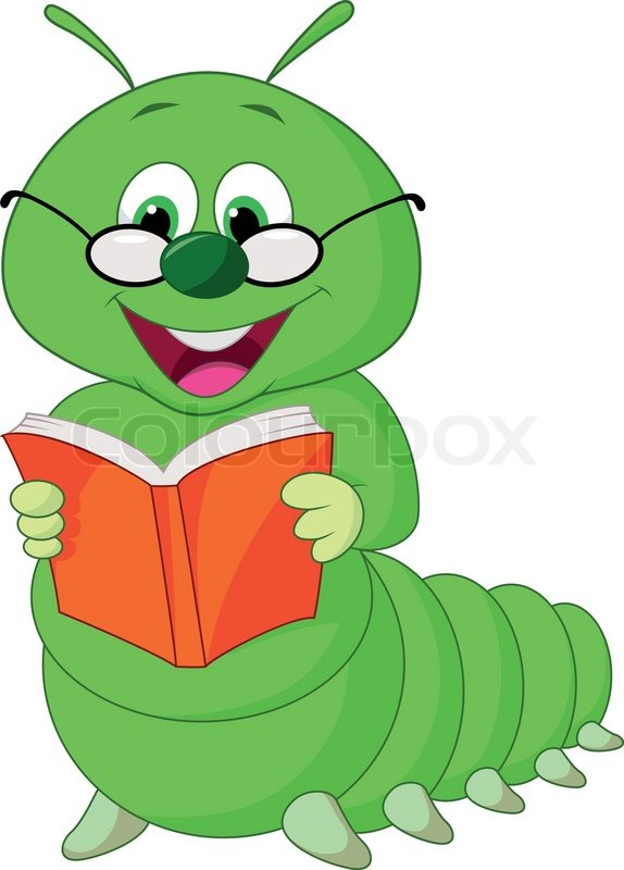 Reading worm clipart clip freeuse stock Book Worm Clipart | Free download best Book Worm Clipart on ... clip freeuse stock