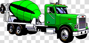 Ready mix clipart transparent library White cement mixer truck, Cement Mixers Concrete pump Truck ... transparent library