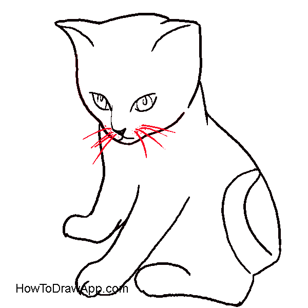 Real cat drawing clipart picture royalty free Realistic Mouse Drawing | Clipart Panda - Free Clipart Images picture royalty free