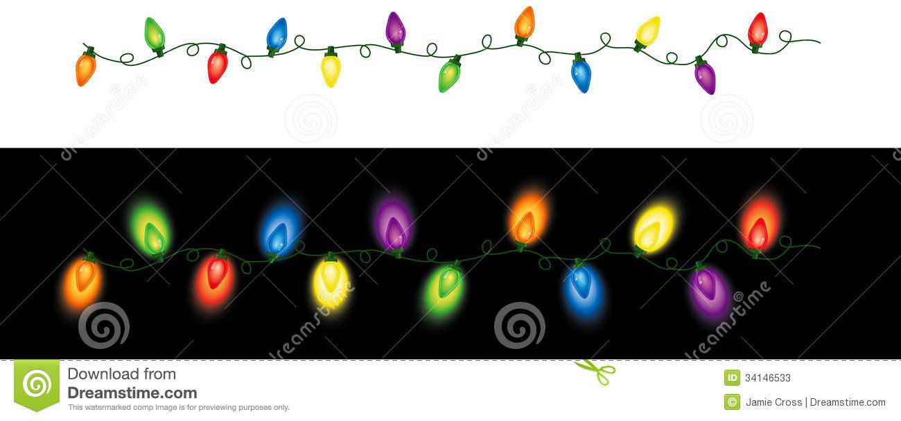 Real christmas lights clipart vector transparent download Colorful christmas lights clipart - ClipartFest vector transparent download