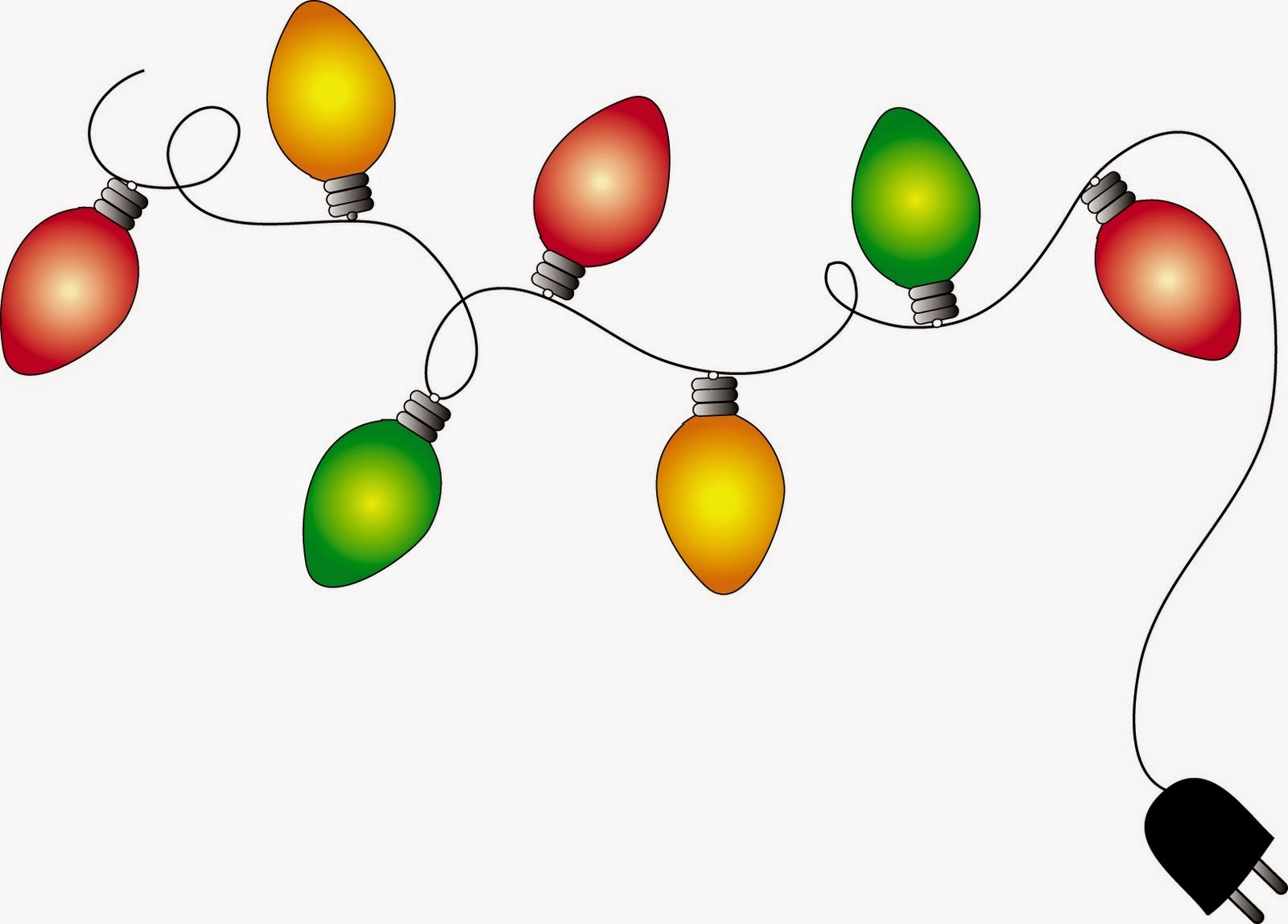 Real christmas lights clipart vector transparent download Christmas Lights Clip Art & Christmas Lights Clip Art Clip Art ... vector transparent download