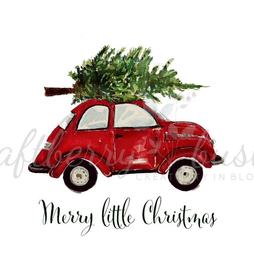 Real christmas tree on top of car clipart picture royalty free library Love this! -- Only wish it was orange like the bug I had in ... picture royalty free library