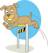 Real dog jumping clipart clip art royalty free Clipart dog jumping - ClipartFest clip art royalty free