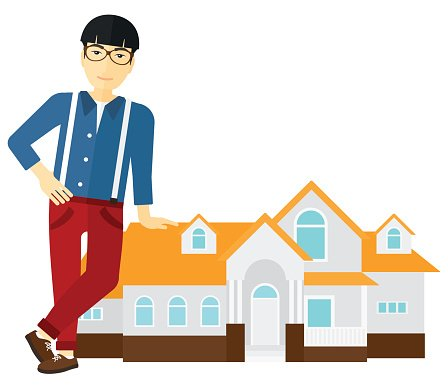 Real estate agents clipart picture stock Real Estate Agent Offering House premium clipart ... picture stock