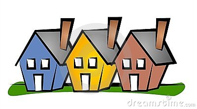 Real estate house clipart graphic freeuse Real Estate Clip Art House 3 Stock Photo - Image: 2268980 graphic freeuse