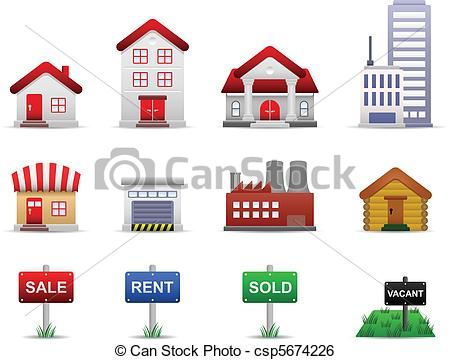 Real estate house clipart clipart royalty free stock Real Estate Property Clip Art – Clipart Free Download clipart royalty free stock