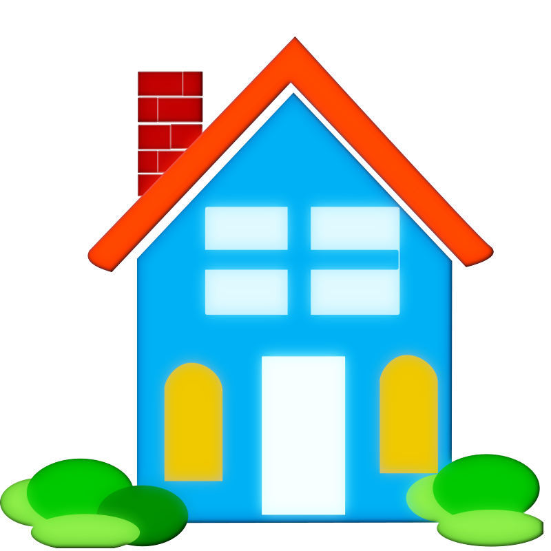 Preschool house clipart svg library download Real Estate House Clipart - Clipart Kid svg library download