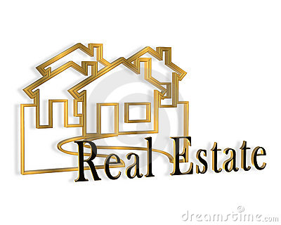 Real estate logo clipart clipart transparent library 3D Real Estate Logo Stock Photo - Image: 4386680 clipart transparent library
