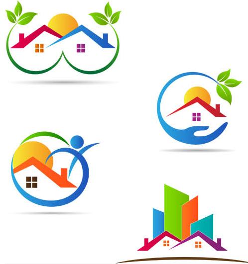 Real estate logo clipart svg freeuse download Free real estate logo clipart - ClipartFest svg freeuse download