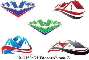 Real estate logo clipart image transparent stock Real estate Clipart and Illustration. 43,110 real estate clip art ... image transparent stock