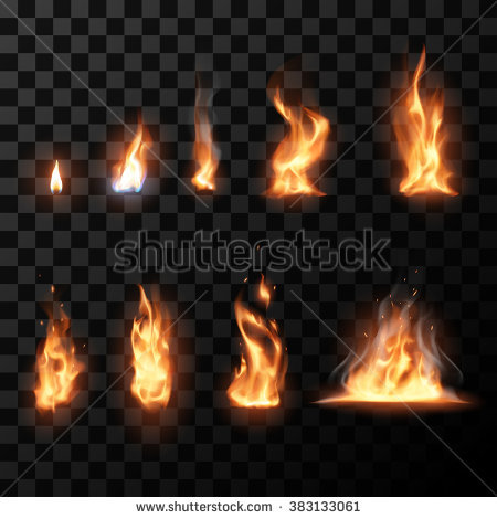 Real fire clipart clip black and white library Fire Flames Stock Images, Royalty-Free Images & Vectors | Shutterstock clip black and white library
