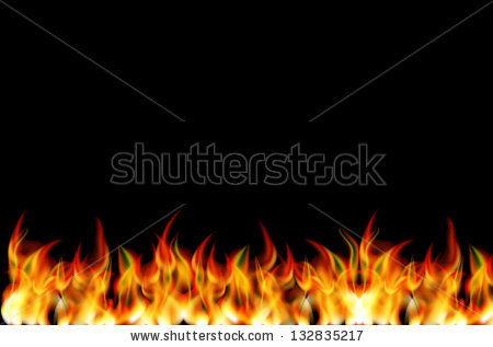 Real fire clipart png black and white library Realistic fire clipart - ClipartFest png black and white library