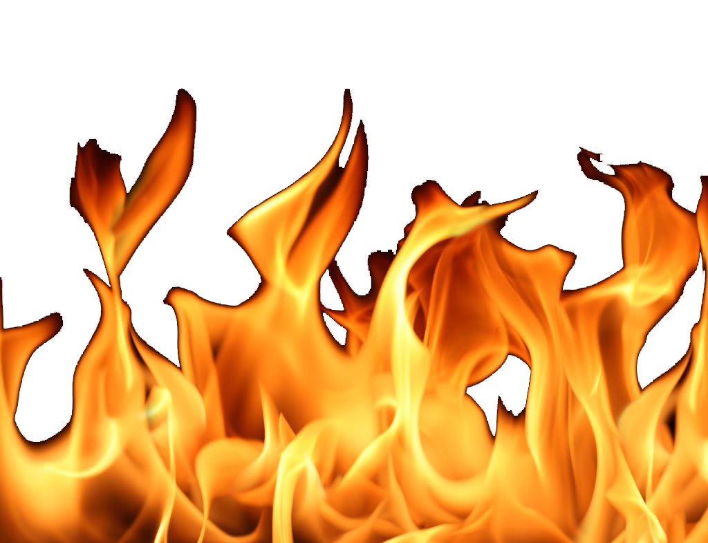 Football clipart with flames png. Real fire clipartfest flame