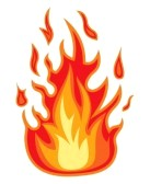 Real fire clipart