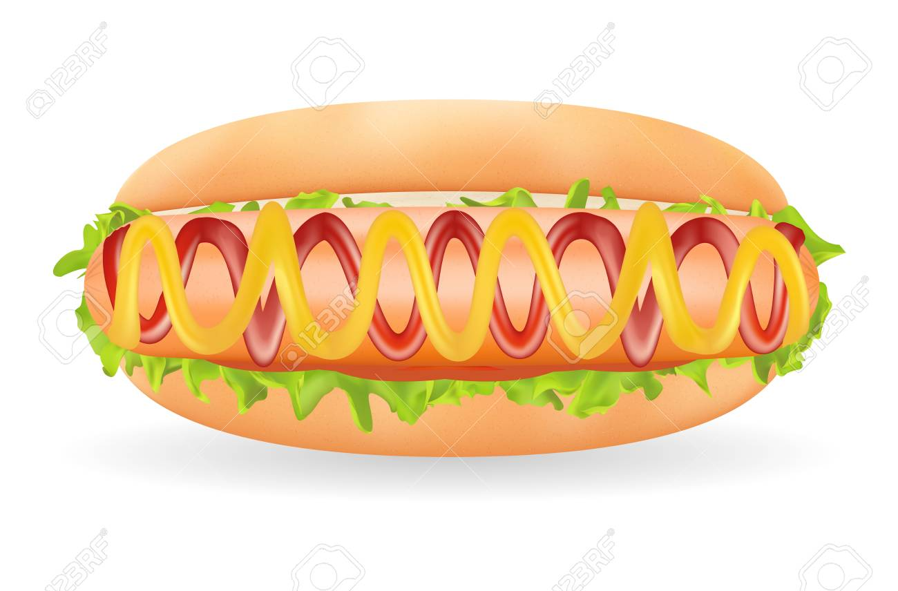 Free Hot Dog Clipart real food, Download Free Clip Art on ... graphic free download