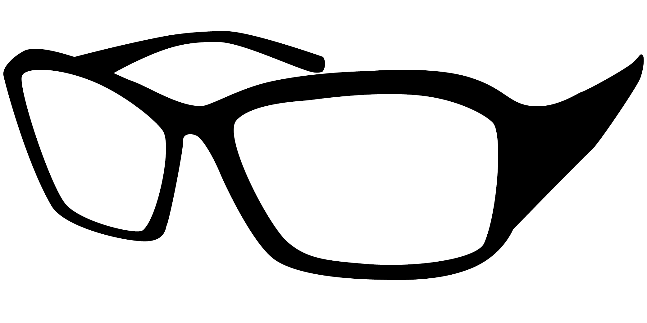 Real glasses clipart image black and white library Glasses PNG images, free glasses png images free download image black and white library