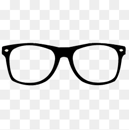 Real glasses clipart graphic black and white stock Glasses Frames, Black, Real, Glasses Fra #52076 - PNG Images ... graphic black and white stock
