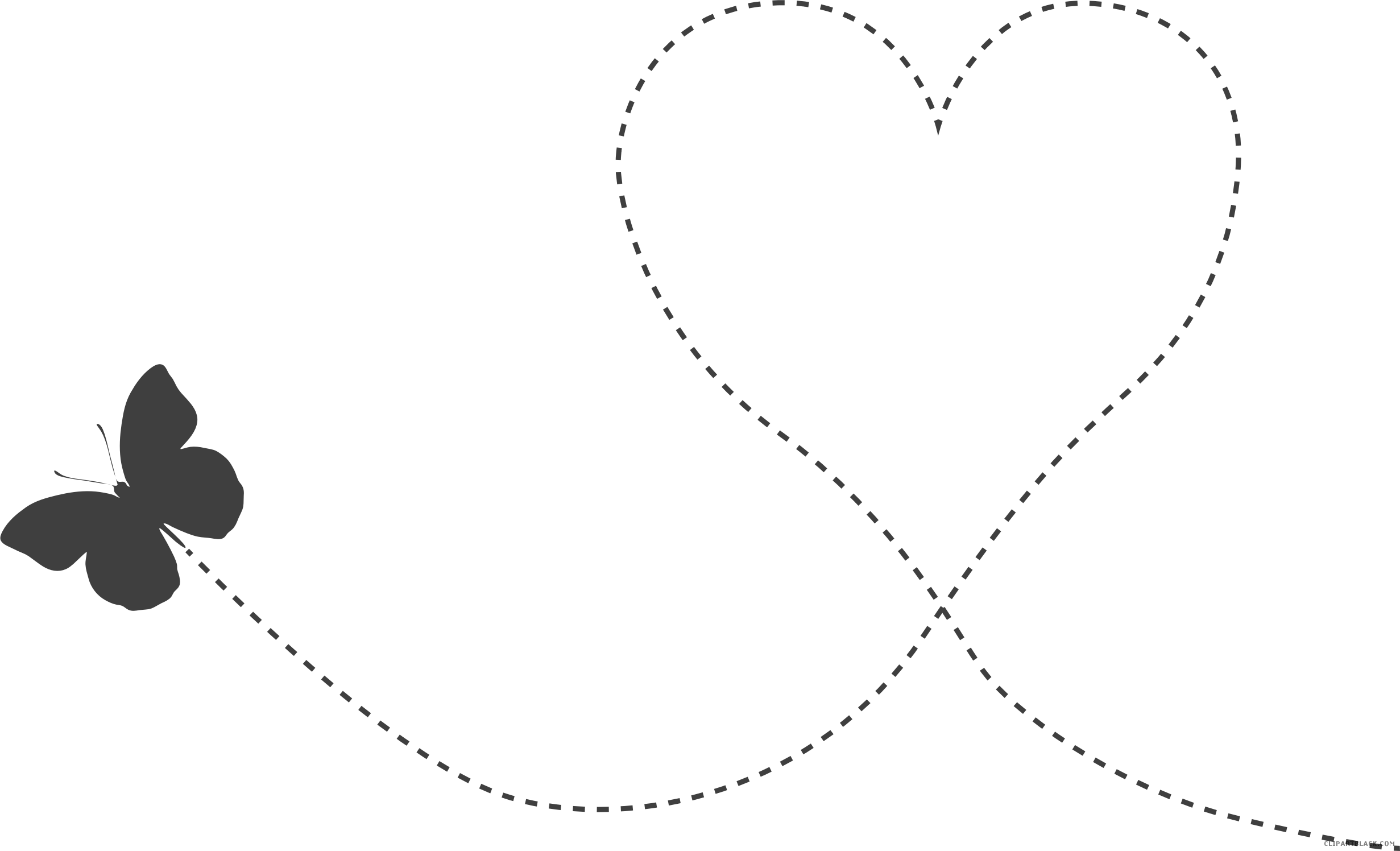 Real heart clipart black and white svg black and white library Butterfly Heart Clipart - ClipartBlack.com svg black and white library