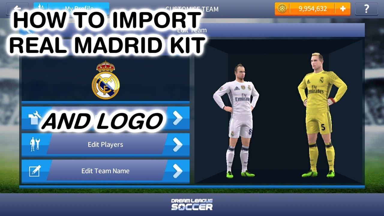 Fts Kits 2019 Real Madrid svg transparent library